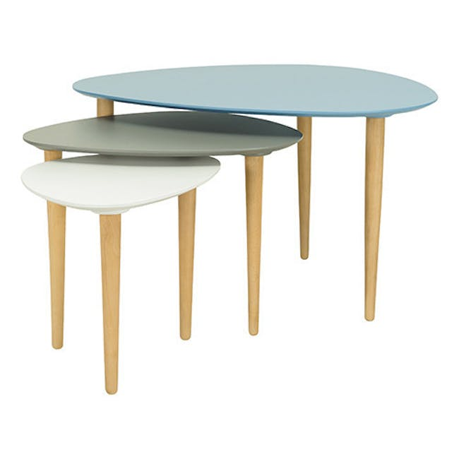 Corey Occasional Low Table - White - 1