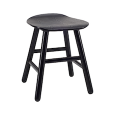 Hetty Stool - Black Ash