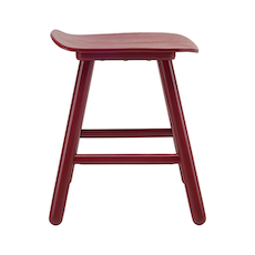 Hetty Stool - Maroon
