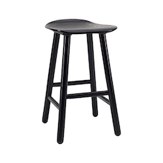 Hetty Counter Stool - Black Ash