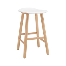 Hetty Counter Stool - Natural, White