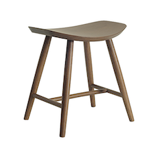 Philana Stool - Walnut Veneer