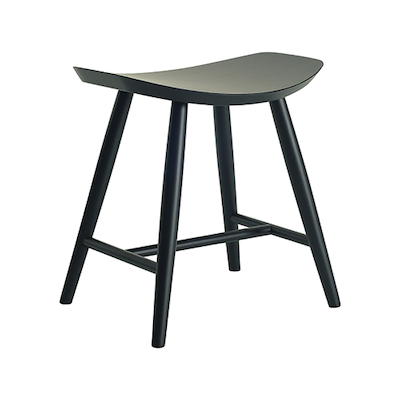 Philana Stool - Black Ash Veneer