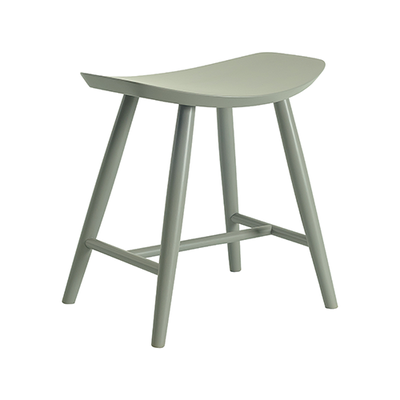 Philana Stool - Grey Lacquered - Image 1