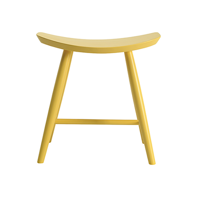Philana Stool - Dust Yellow Lacquered