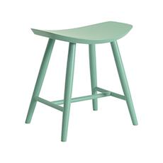 Philana Stool - Light Green Lacquered