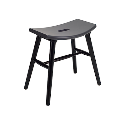 Holly Stool - Black, Graphite Grey - Image 2