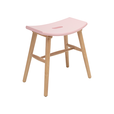 Holly Stool - Natural, Orchid Pink - Image 2
