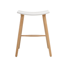 Hollis Counter Stool - Natural, White