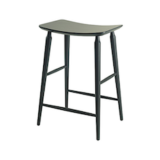 Hester Counter Stool - White Lacquered