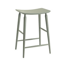 Hester Counter Stool - Grey Lacquered