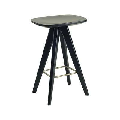 Freya Counter Stool - Black Ash Veneer - Image 1