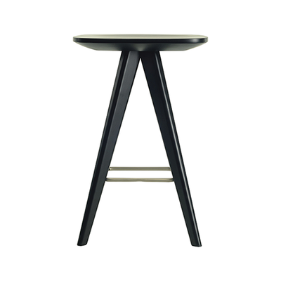 Freya Counter Stool - Orange Lacquered - Image 2