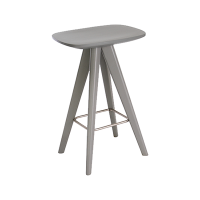 Freya Counter Stool - Grey Lacquered - Image 1