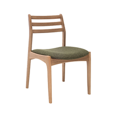 Sadie Dining Chair - Oak, Forest