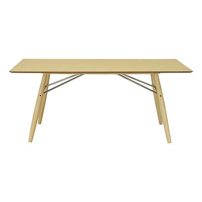 Ferrol Rectangular 8 Seater Table - Oak Veneer, Oak