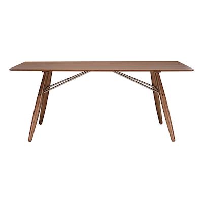 Ferrol Rectangular 8 Seater Table - Walnut Veneer, Walnut