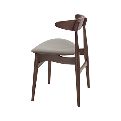 Tricia Dining Chair - Walnut, Mocha - Image 2