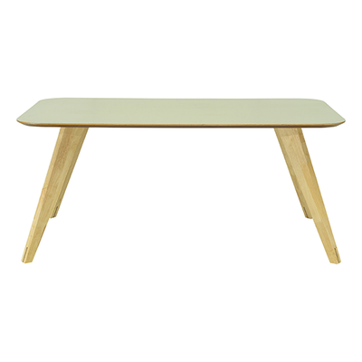 Ryder 8 Seater Rectangular Table - Dust Green Lacquered, Oak