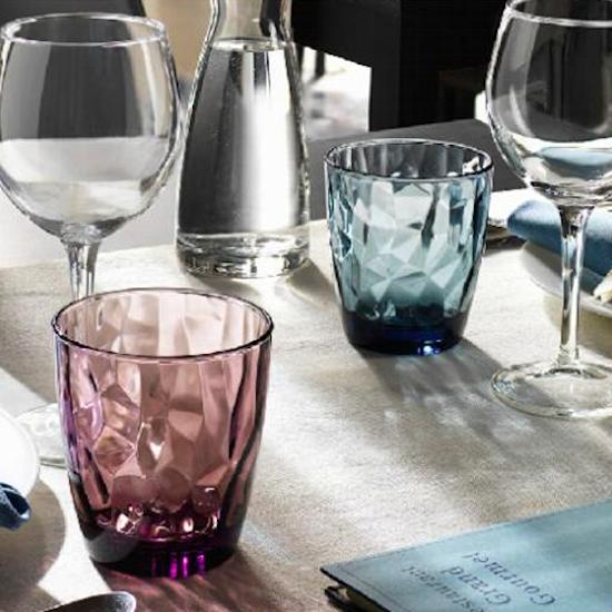 Bormioli Rocco - Diamond Water 300 ml - Ocean Blue