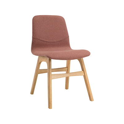 Bianca Dining Chair - Oak, Burnt Umber - Image 1