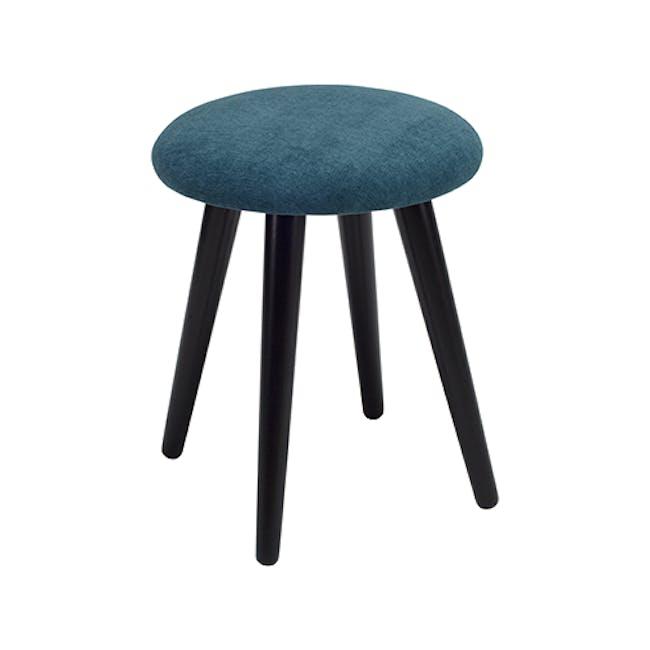 Poppy Stool - Black, Nile Green - 2