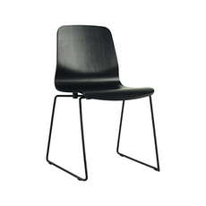 Santorini Dining Chair - Matt Black, Black (Set of 2)