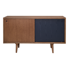 Los Angeles Sideboard - Cocoa, Marine Blue