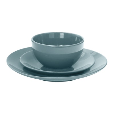 EVERYDAY 18-Pc Dinnerware Set - Blue - Image 2