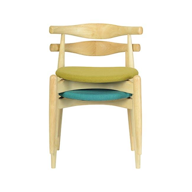 Bouvier Dining Chair - Oak, Carrot - 1