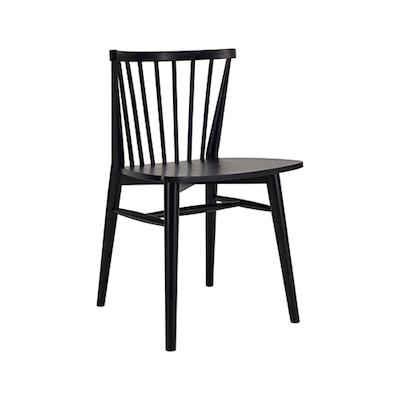 Birdy Dining Chair - Black - Image 1