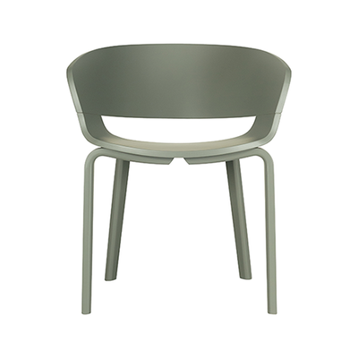 Huela Dining Chair - Grey Lacquered - Image 2