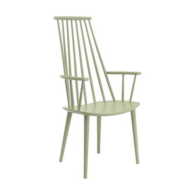 Frost Dining Chair - Dust Green Lacquered - Image 1