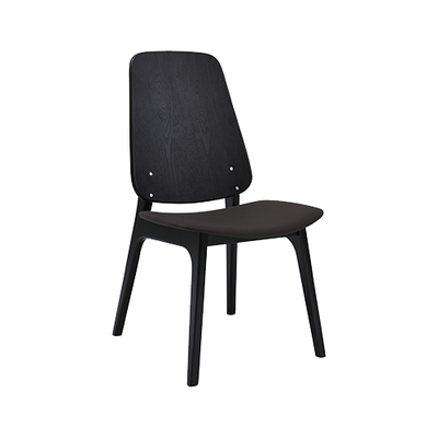 Maddie Dining Chair - Black, Lava - Image 1