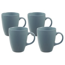 EVERYDAY 4-Pc Mug Set - Blue