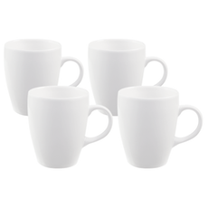 EVERYDAY 4-Pc Mug Set - White