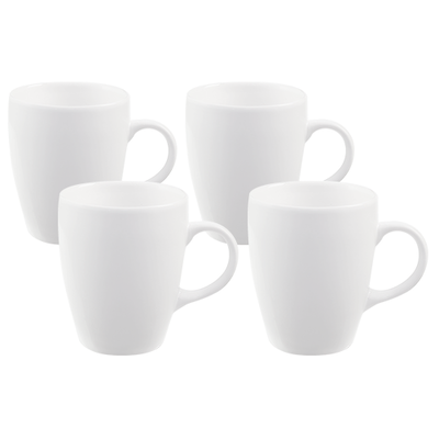 EVERYDAY 4-Pc Mug Set - White - Image 1