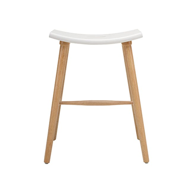Holly Counter Stool - Black, Graphite Grey - 1