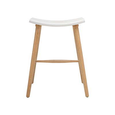 Holly Counter Stool - Black, Graphite Grey