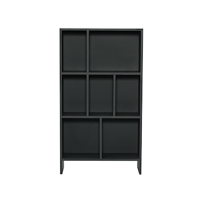 Austin Low Rack - Charcoal Grey - Image 1