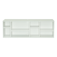 London Media Rack - White