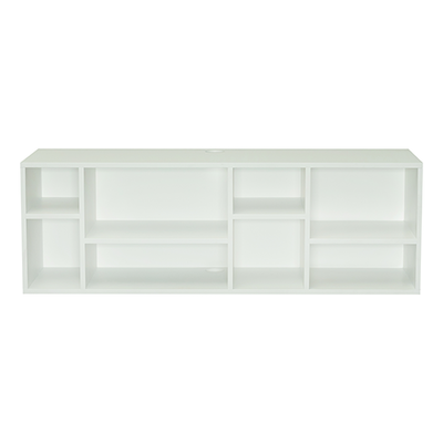 Liam Media Rack - White - Image 1