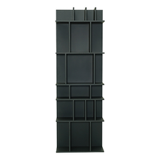 Wilber Tall Wall Shelf - Charcoal Grey