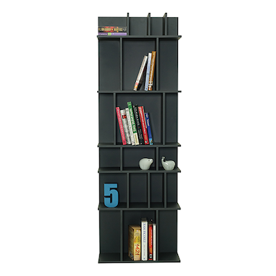 Wilber Tall Wall Shelf - Charcoal Grey - Image 2