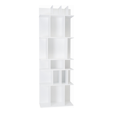 Wilber Tall Wall Shelf - White