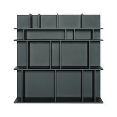 Wilber Short Wall Shelf - Charcoal Grey