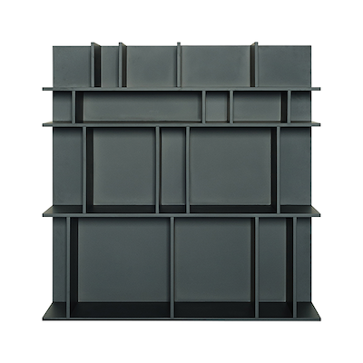 Wilber Short Wall Shelf - Charcoal Grey - Image 1