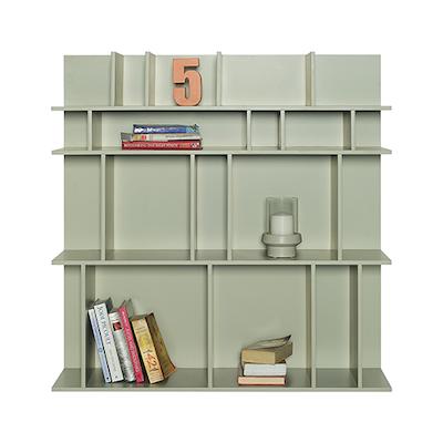 Wilber Short Wall Shelf - Charcoal Grey - Image 2