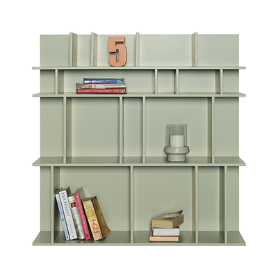 Wilber Short Wall Shelf - Charcoal Grey - Image 2