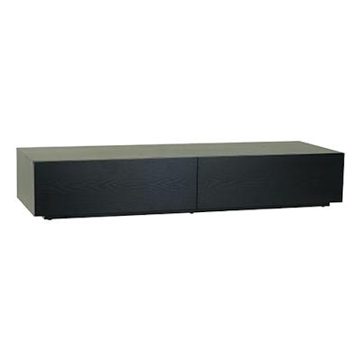 Berlin TV Console 1.5m - Black Ash - Image 1